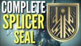 FAST & EASY SPLICER TITLE GUIDE – 100% – Destiny 2 Beyond Light
