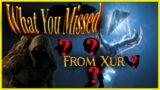 Xur's Exotics #Shorts | Beyond Light | Destiny 2 05-01-2021