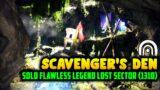 "Destiny 2   Easy Solo ""Scavenger's Den"" Legend Lost Sector Guide (1310)"