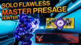 Destiny 2: HUNTER SOLO FLAWLESS MASTER Presage in Season of the Splicer – NO ANARCHY